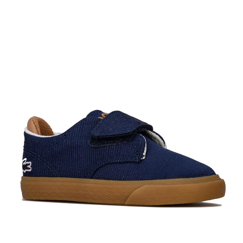 Boty Lacoste Infant Boys Esparre 2 Trainers Navy