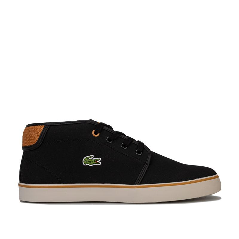 Boty Lacoste Junior Boys Ampthill Mid Trainers Black