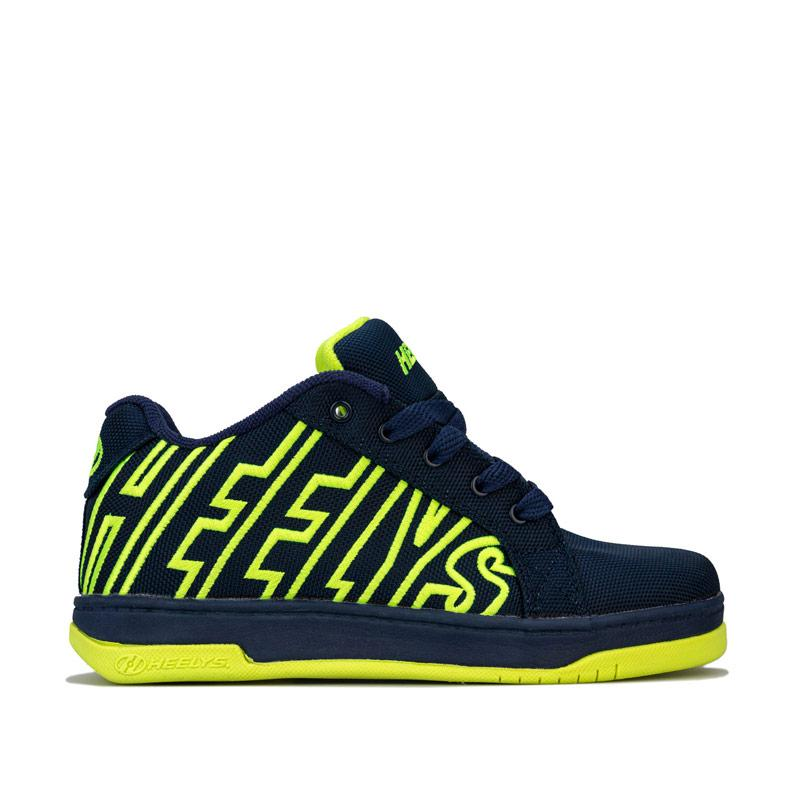 Boty Heelys Junior Boys HX1 Split Skate Shoes Navy Yellow
