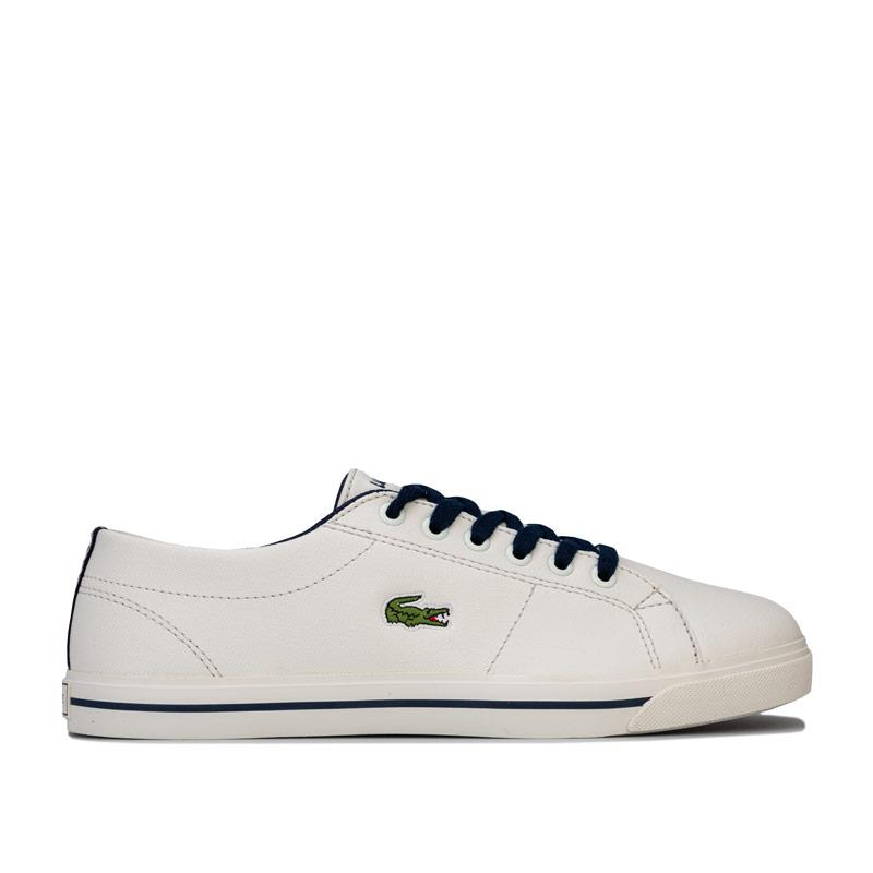 Boty Lacoste Junior Boys Riberic 119 2 Trainers White Navy