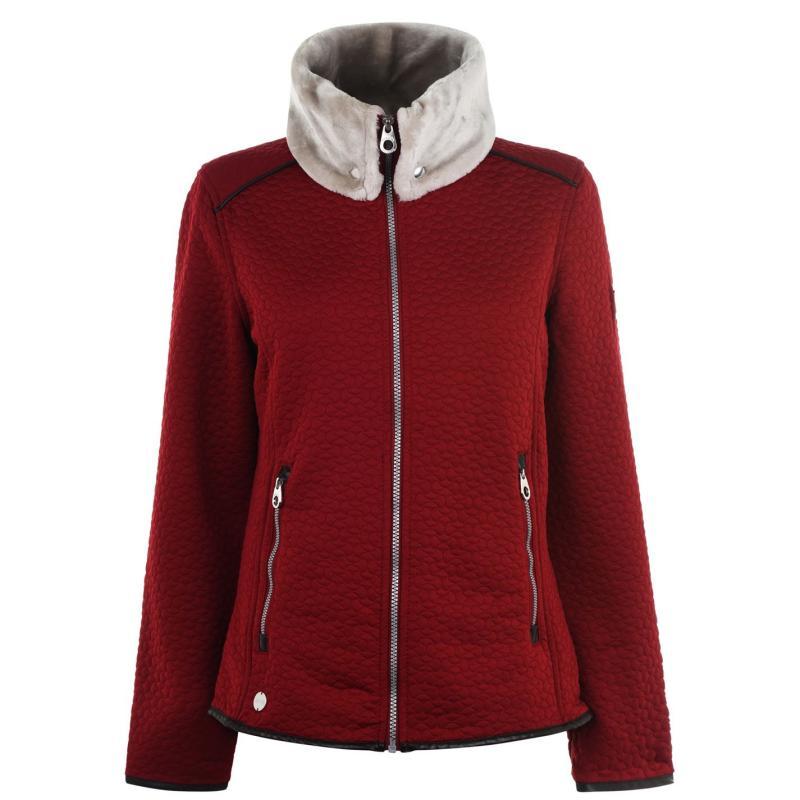 Regatta Tayla Fleece Jacket Ladies Delhi Red