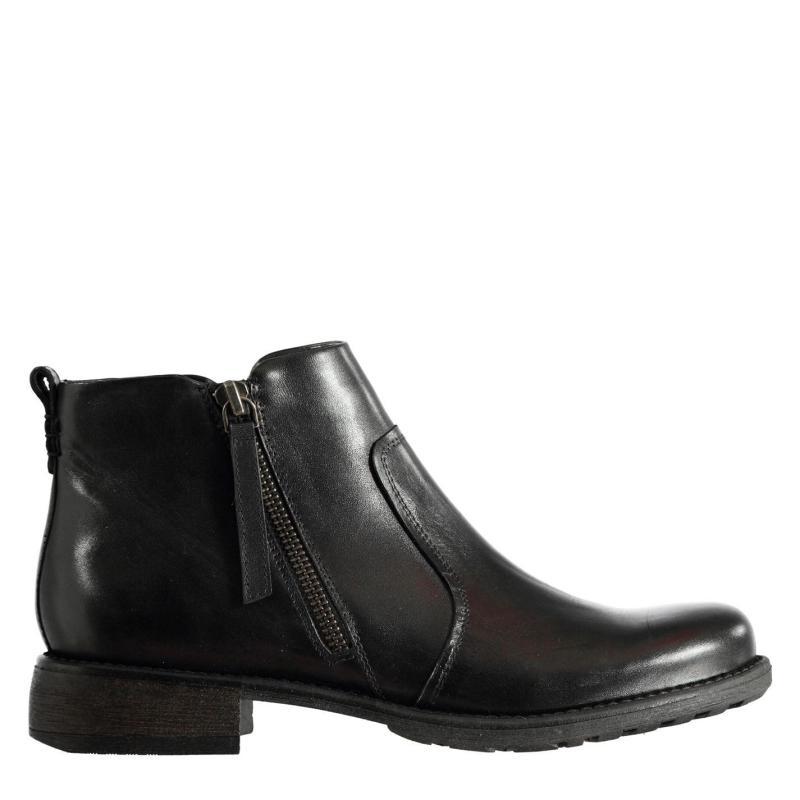 Firetrap Axel Zip Boots Ladies Black