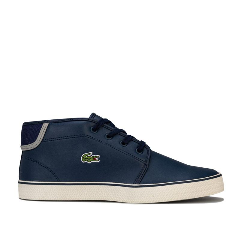 Boty Lacoste Junior Boys Ampthill Mid Trainers Navy