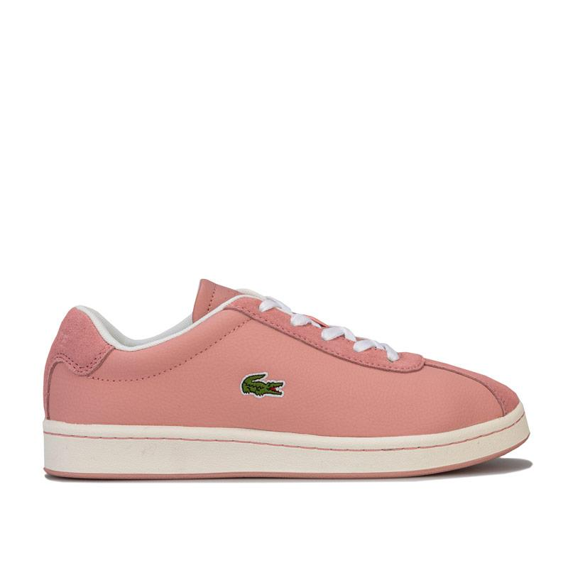 Lacoste Junior Girls Masters 119 1 Trainers Pink