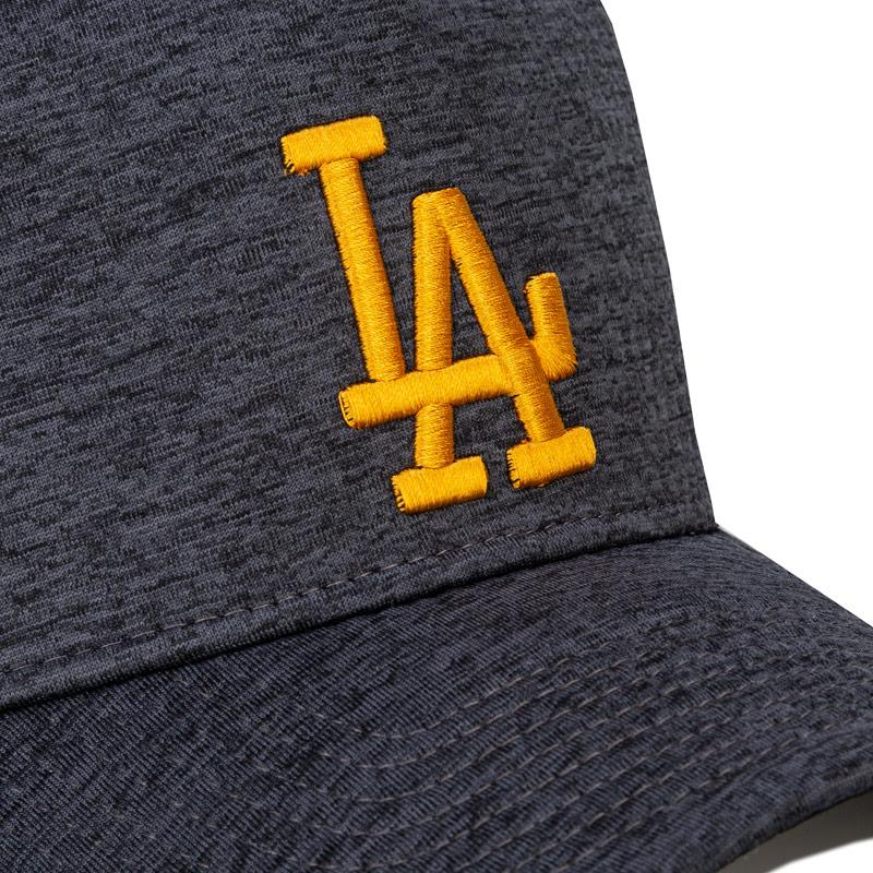 New Era Mens Dry Switch Los Angeles Dodgers Cap Charcoal