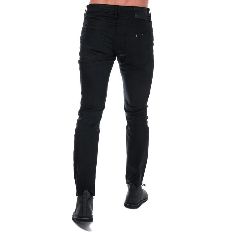 Jack Jones Mens Tim Original 220 Slim Fit Jeans Black