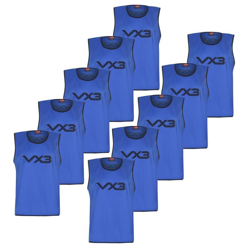 VX-3 Hi Viz Mesh Training Bibs Junior Royal