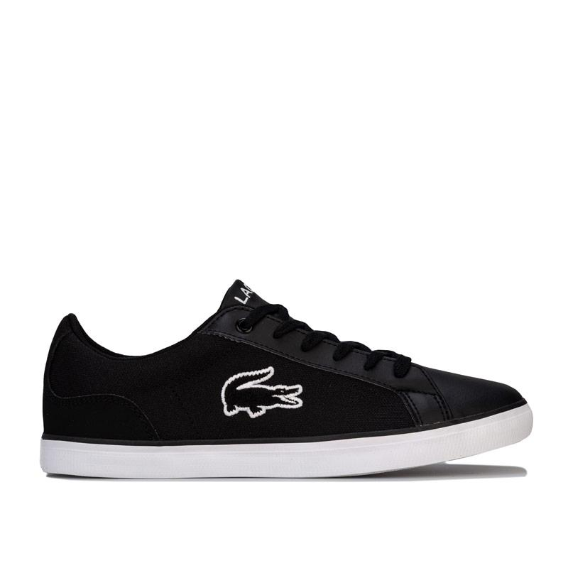 Boty Lacoste Infant Boys Lerond Trainers Black