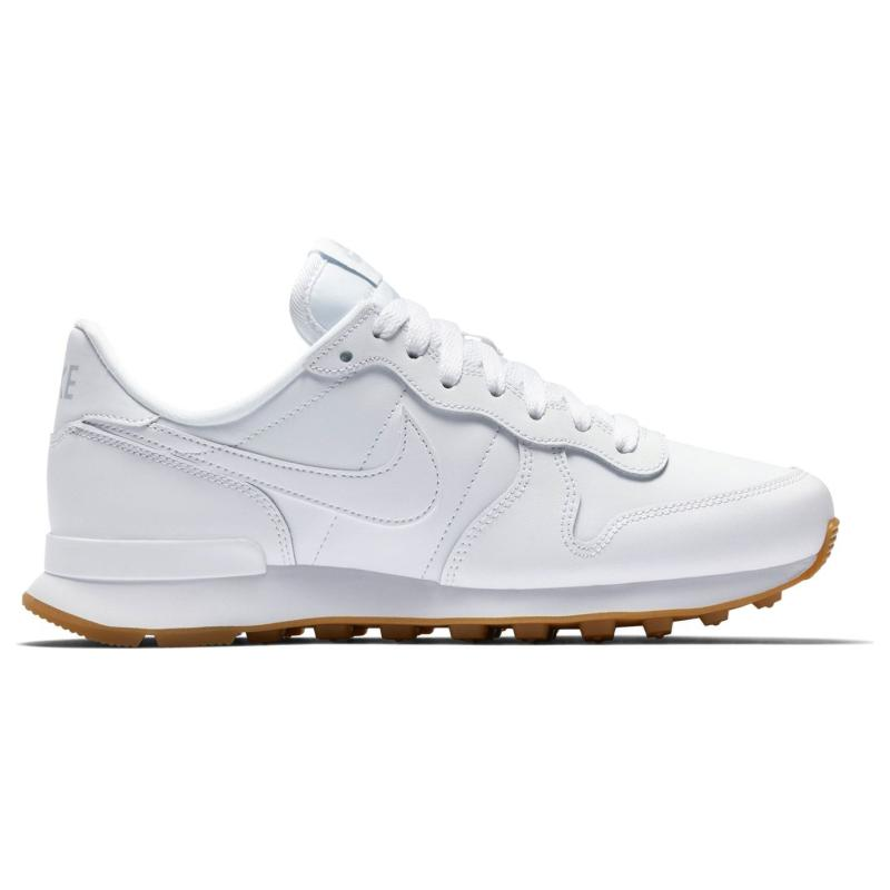 Nike Internationalist Ladies Trainers White/White