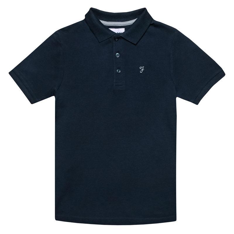 Tričko Farah Infant Boys Bugsworth Polo Shirt Navy