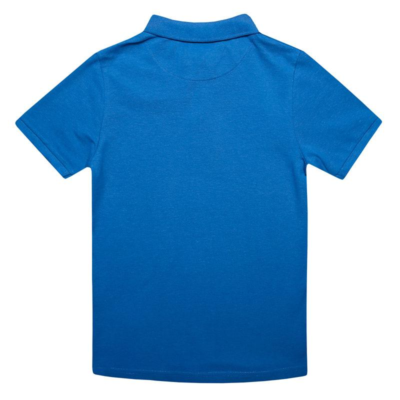 Tričko Farah Junior Boys Bugsworth Polo Shirt Blue