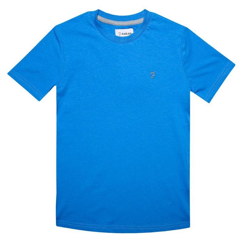 Tričko Farah Junior Boys Denny T-Shirt Blue