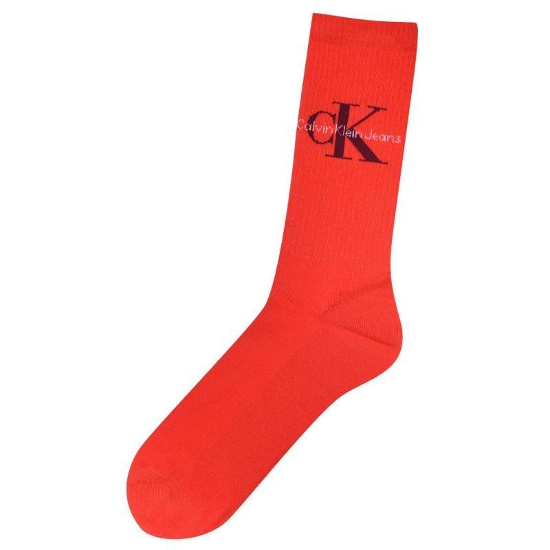 Ponožky Calvin Klein Socks Snr02BX99 Orange