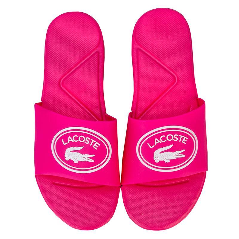 Lacoste Children Girls L.30 Slide Sandal Pink