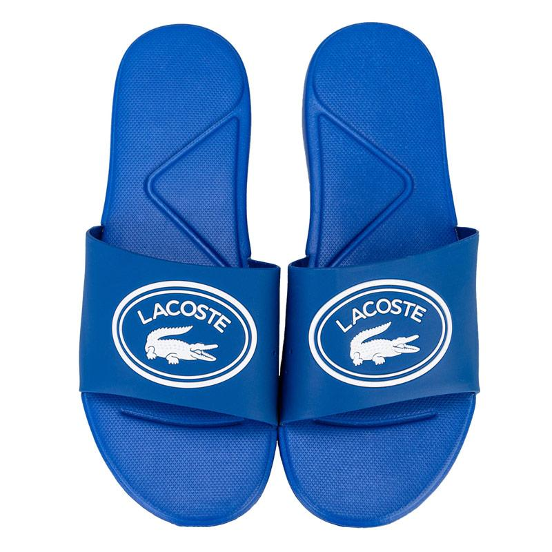 Boty Lacoste Junior Boys L.30 Slide Sandal Blue