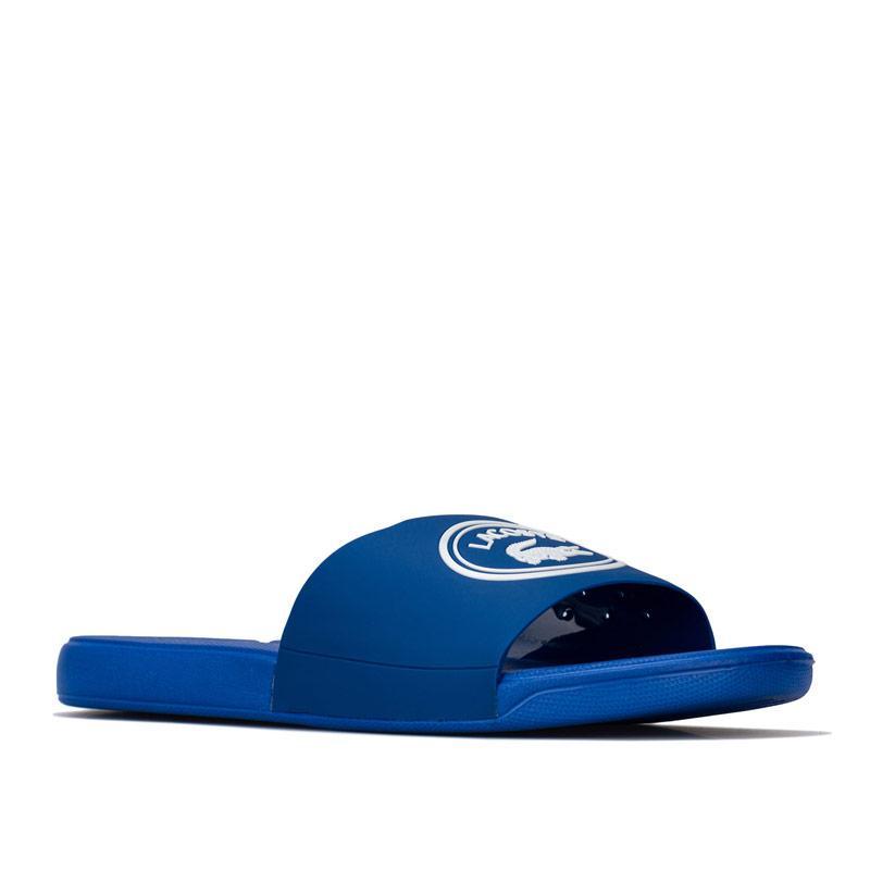 Boty Lacoste Junior Boys L.30 Slide Sandal Blue