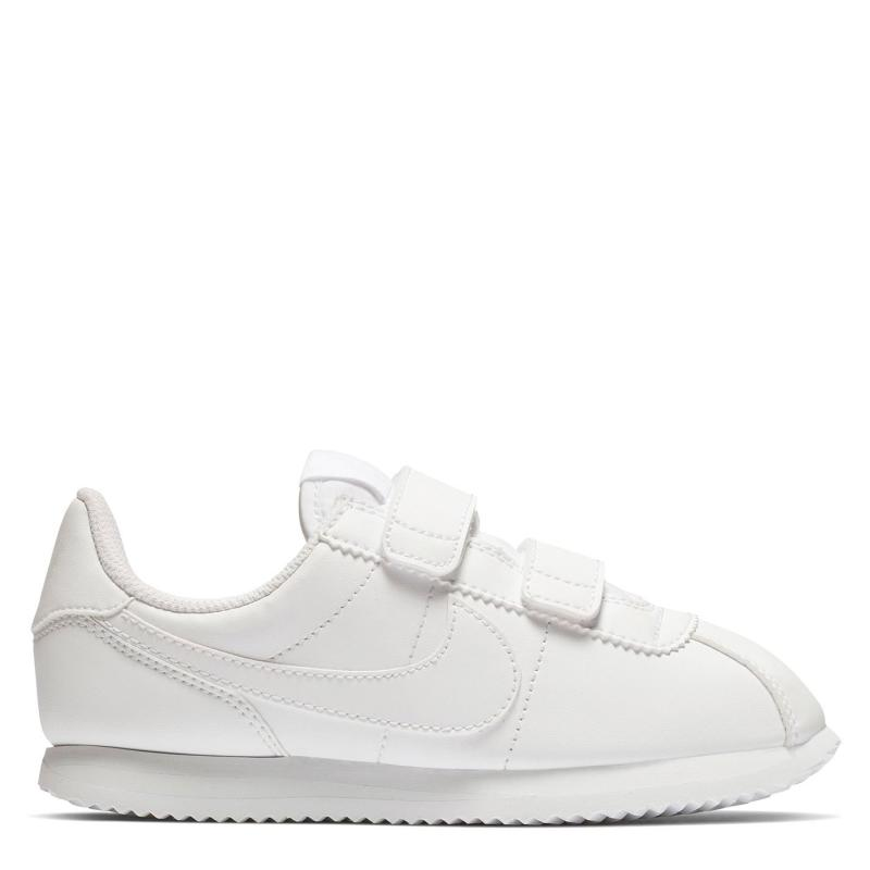 Boty Nike Nike Cortez Basic SL (PS) Pre-School Shoe Triple White