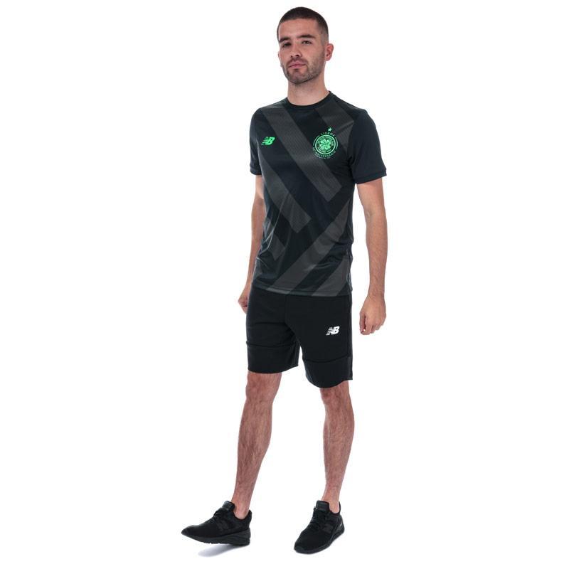 New Balance Mens Athletic Shorts Black