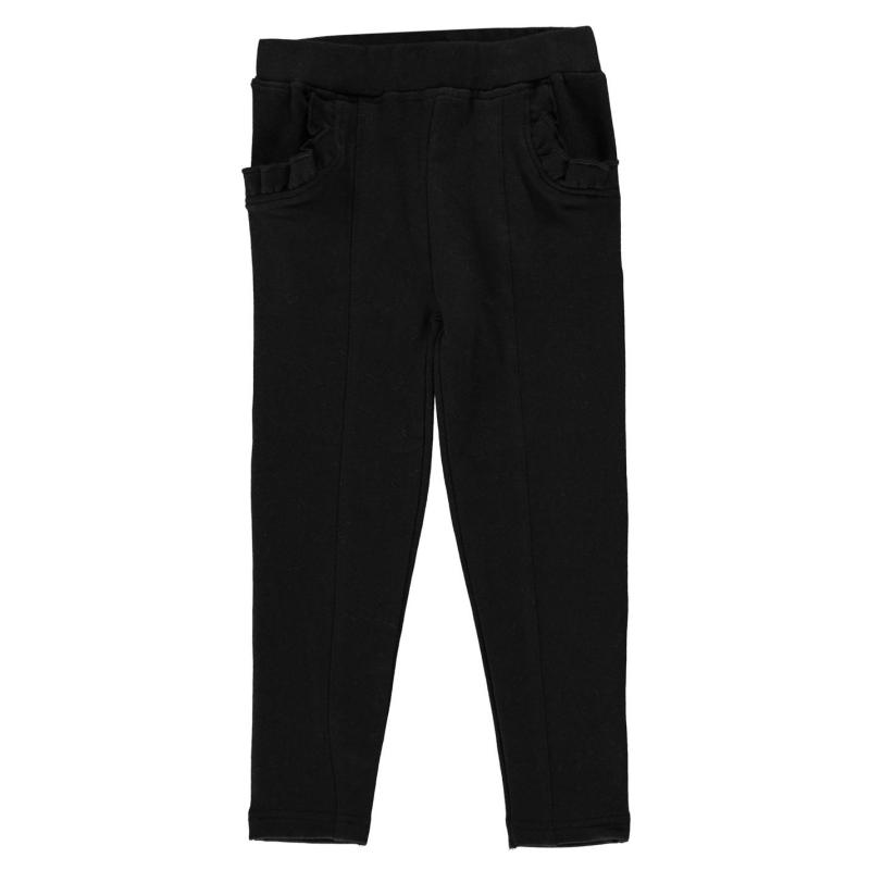 Crafted Ponte Trousers Infant Girls Black
