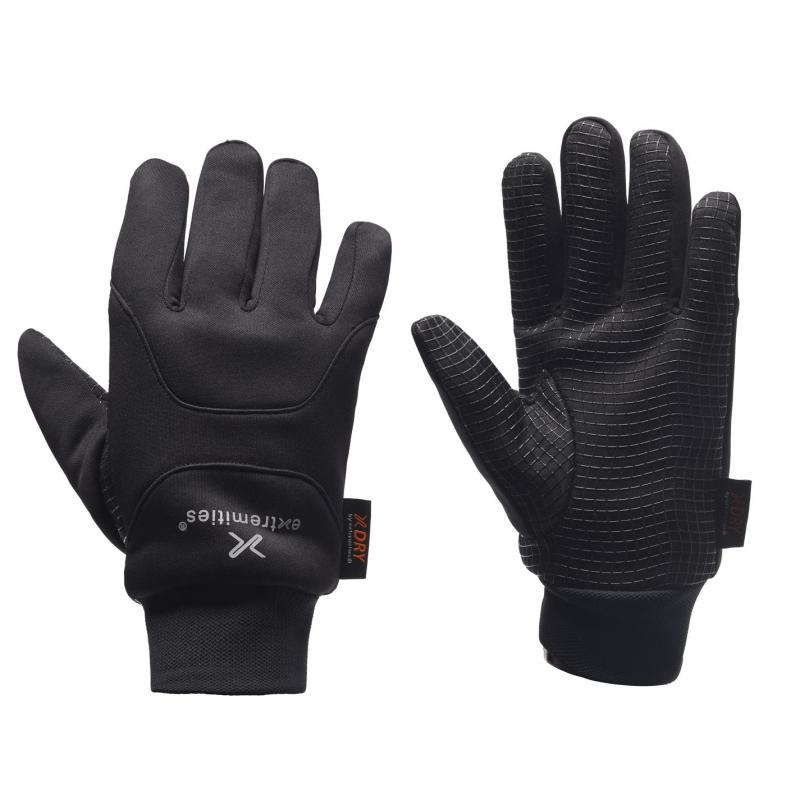 Extremities Insulated Waterproof Power Liner Gloves Adults Black