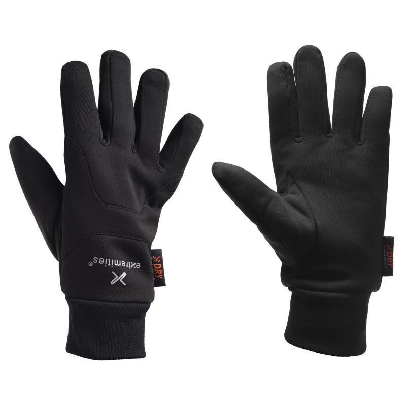 Extremities Waterproof Power Liner Gloves Black