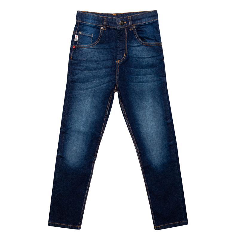 Kalhoty Franklin And Marshall Junior Boys Carrot Fit Jeans Denim