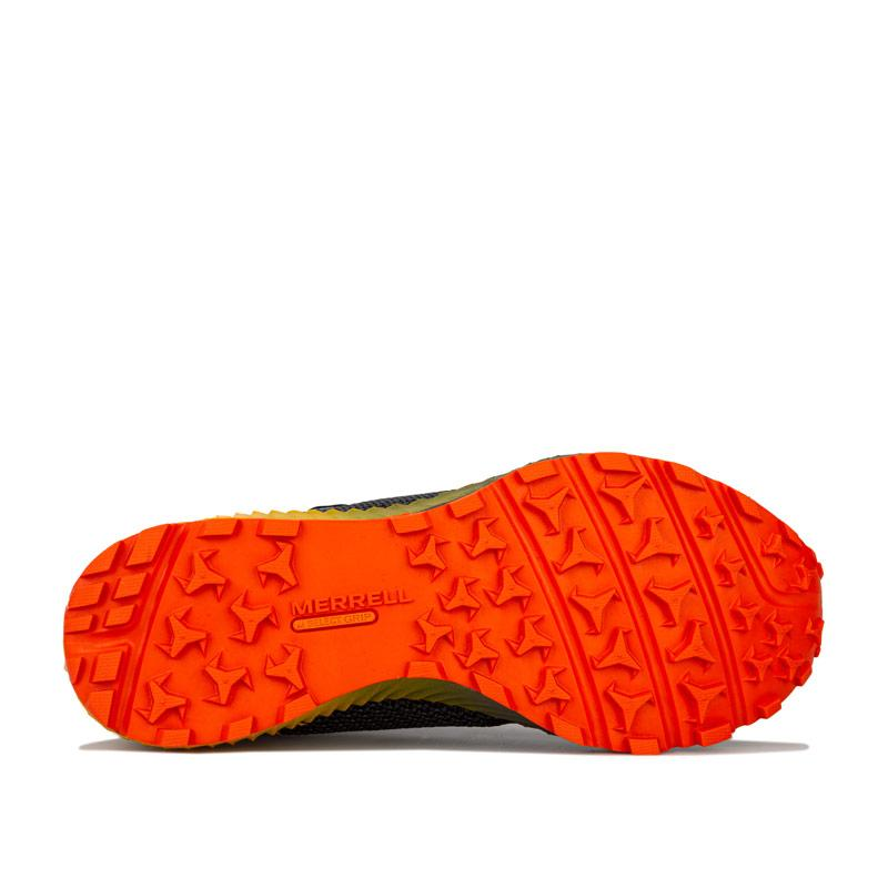 Merrell Mens All Out Crush 2 GTX Trainers Grey orange