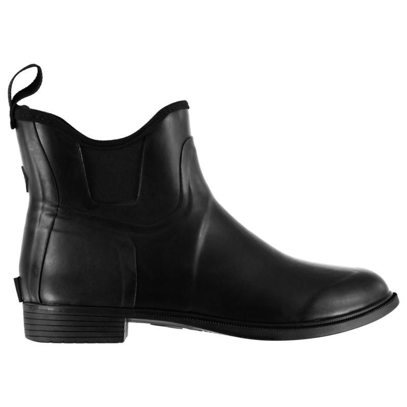Boty Muck Boot Derby Womens Short Boots Black
