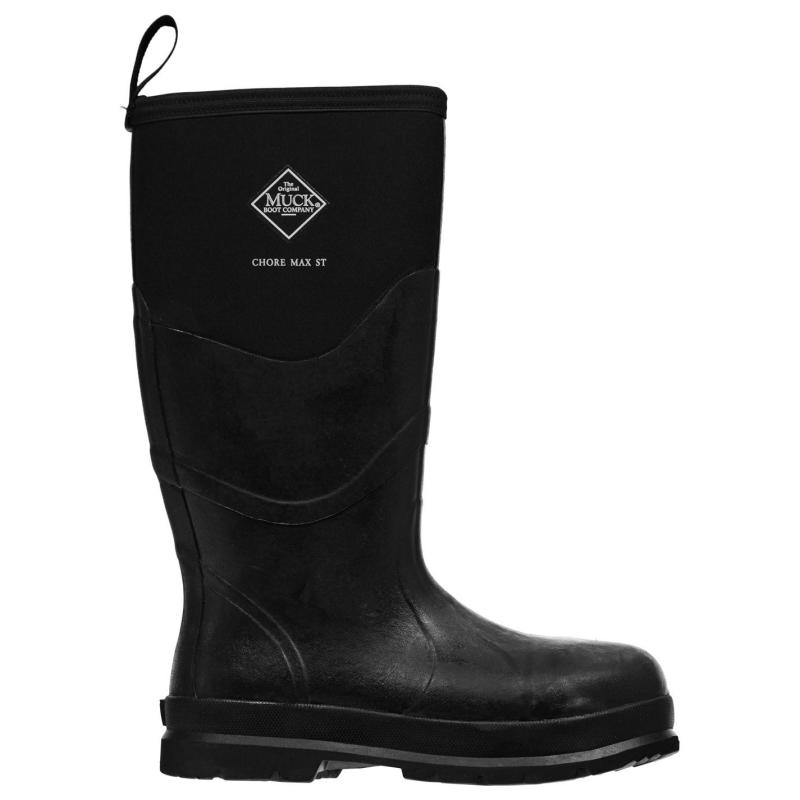 Boty Muck Boot Chore Max Boots Mens Black