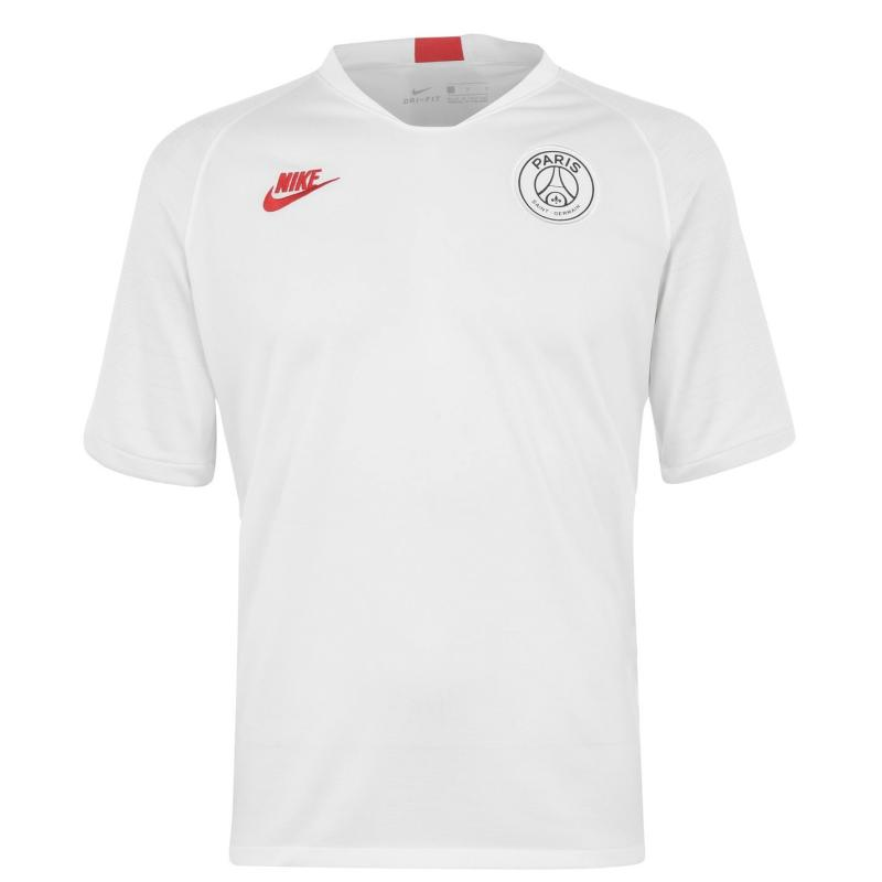 Nike Paris Saint Germain Strike Top 2019 2020 Mens White/Red