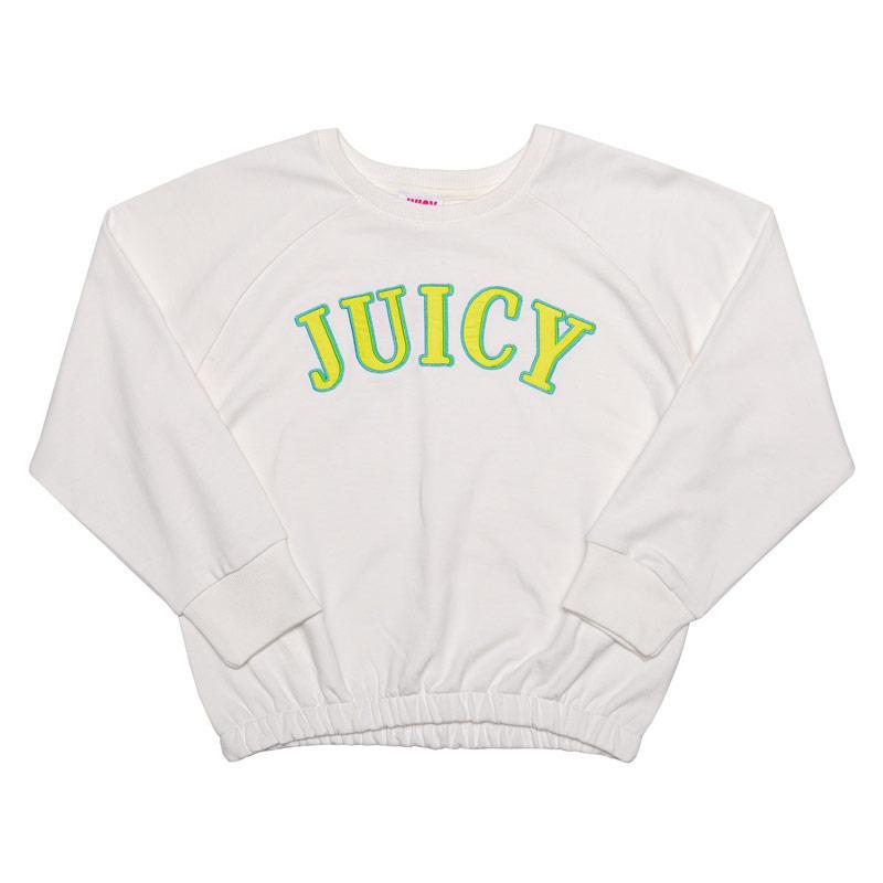 Juicy Couture Junior Girls Applique Sweat Rose