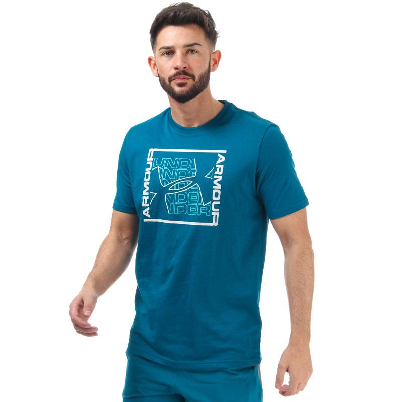 Tričko Under Armour Mens Rhythm T-Shirt Green