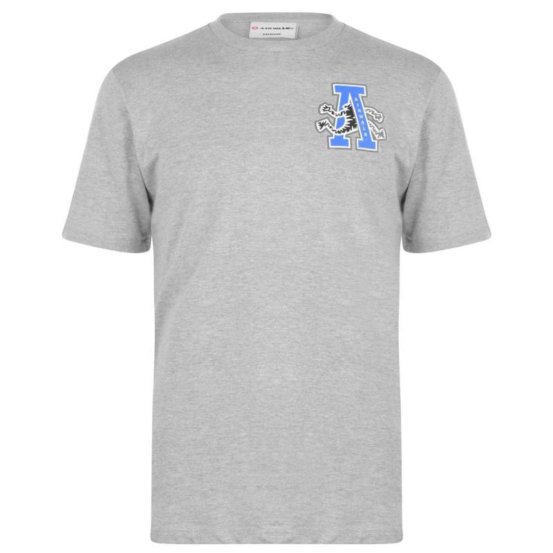 Tričko Airwalk Big A Logo Grey