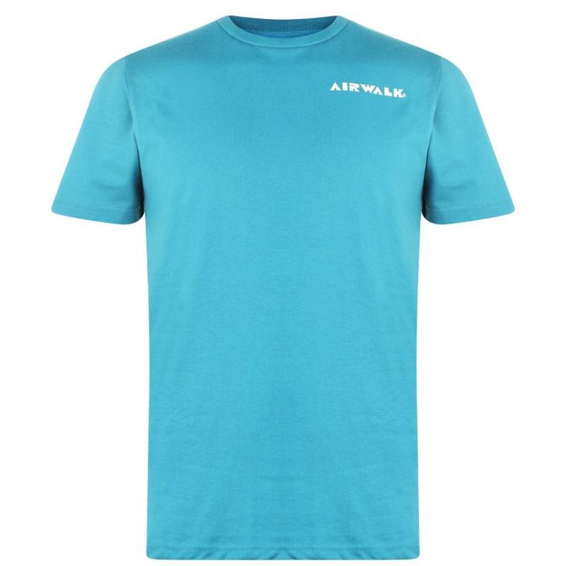 Tričko Airwalk Planet Logo T Shirt Teal