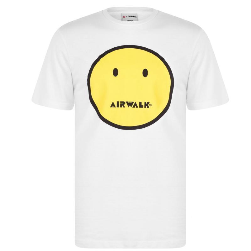 Tričko Airwalk Smile T Shirt White