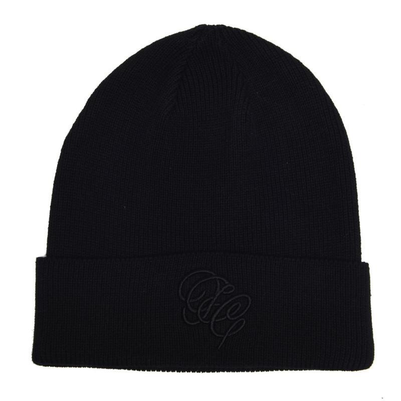 Fabric Branded Hat Mens Black
