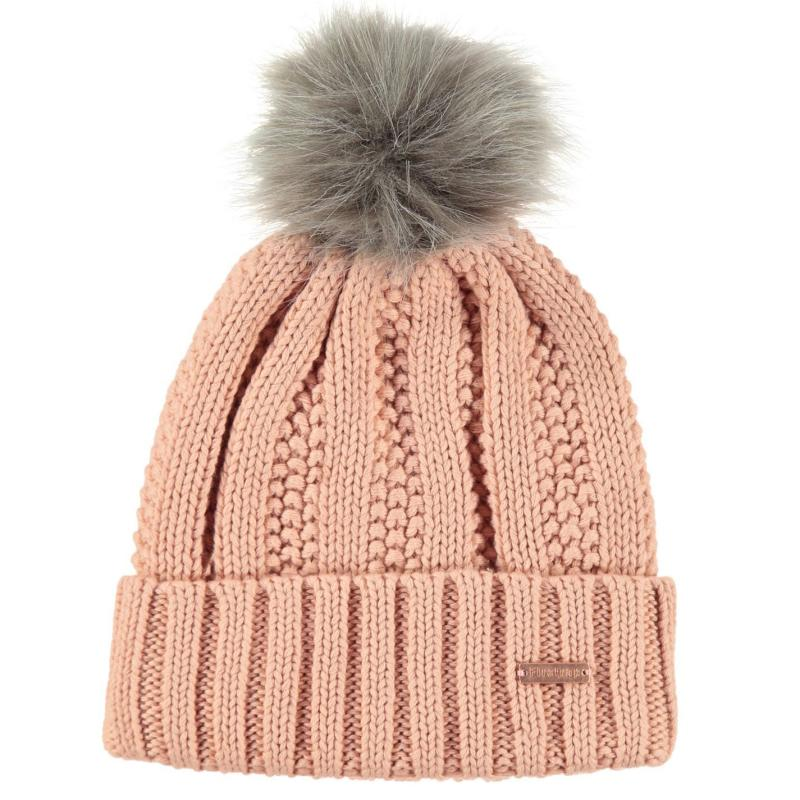 Firetrap Snow Beanie Junior Rose Smoke