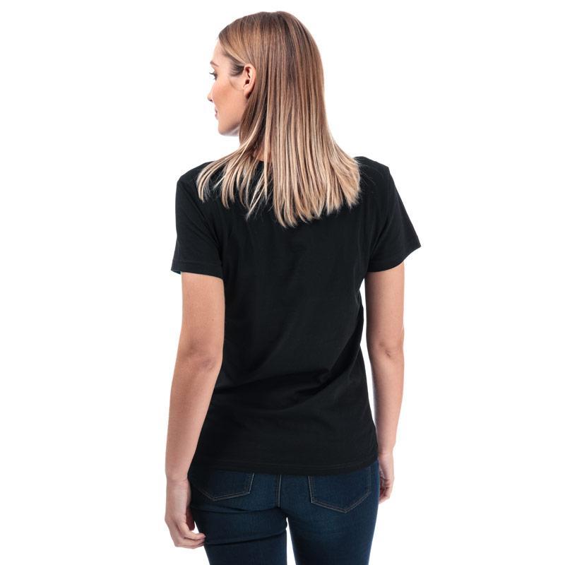 Diesel Womens Sully T-Shirt Black-White