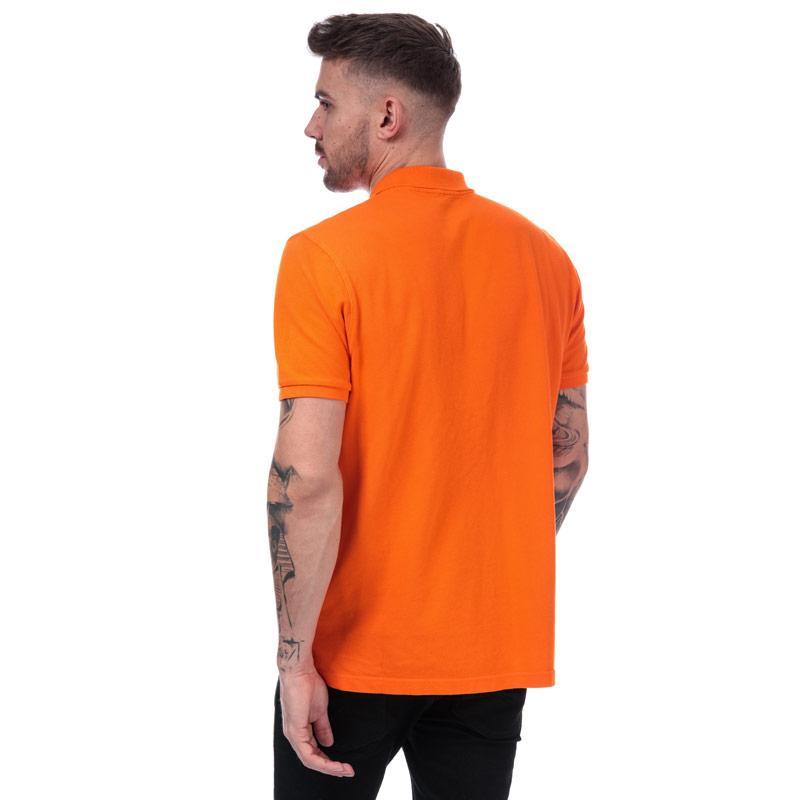 Helly Hansen Mens Transat Polo Shirt Orange