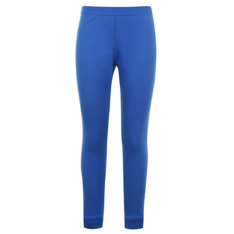 Campri Thermal Baselayer Pants Unisex Junior Blue