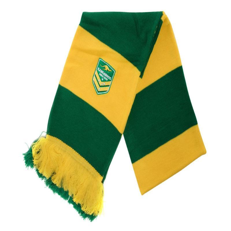 Canterbury Australia Scarf Green/Yellow