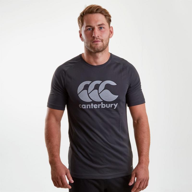 Tričko Canterbury Core Short Sleeve T Shirt Mens Phantom