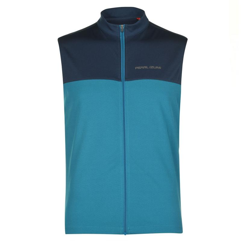 Pearl Izumi Quest Sleeveless Jersey Mens Teal/Navy