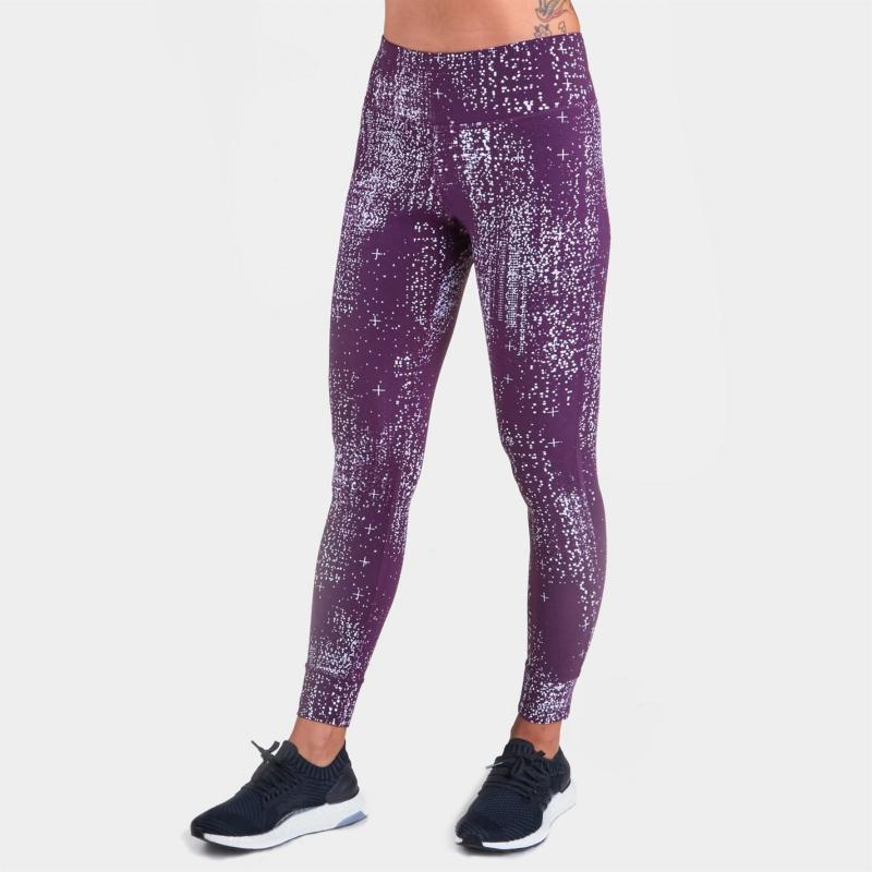 Reebok OS Luxe Base Layer Tights Womens Urban Violet