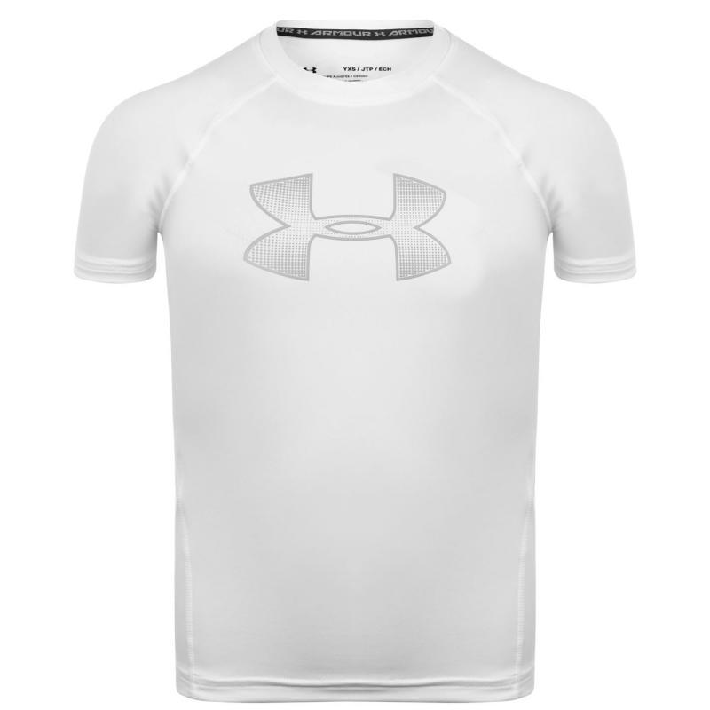 Under Armour Armour Performance T Shirt Juniors White
