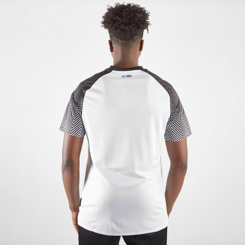 Umbro Derby Short Sleeve T Shirt Mens White/Black