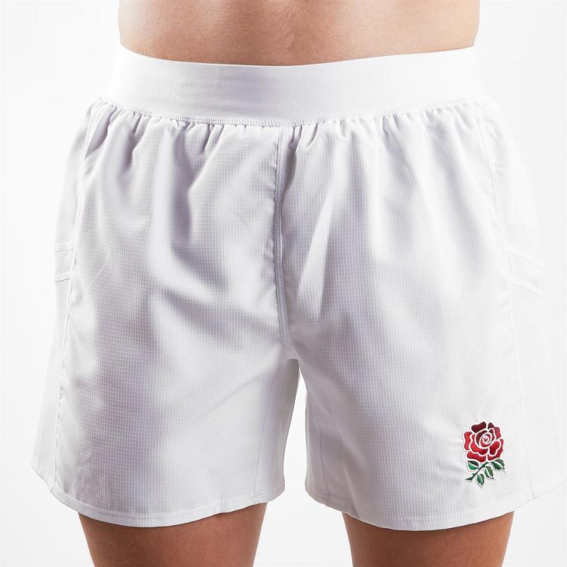 Canterbury England Shorts Mens Bright White