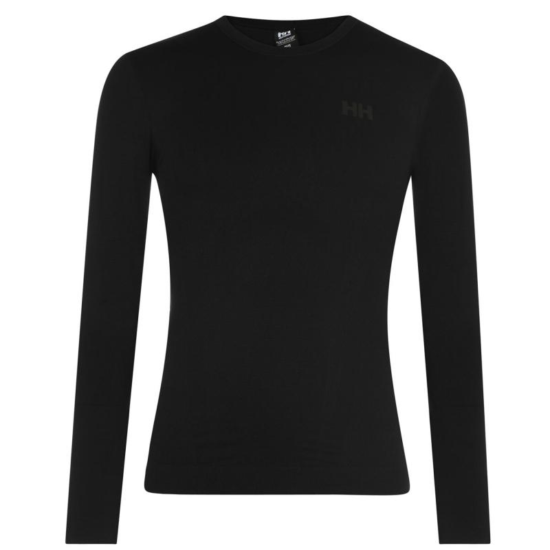 Helly Hansen Lifa Seamless Long Sleeved T Shirt Black