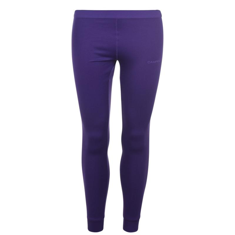 Campri Baselayer Pants Ladies Purple