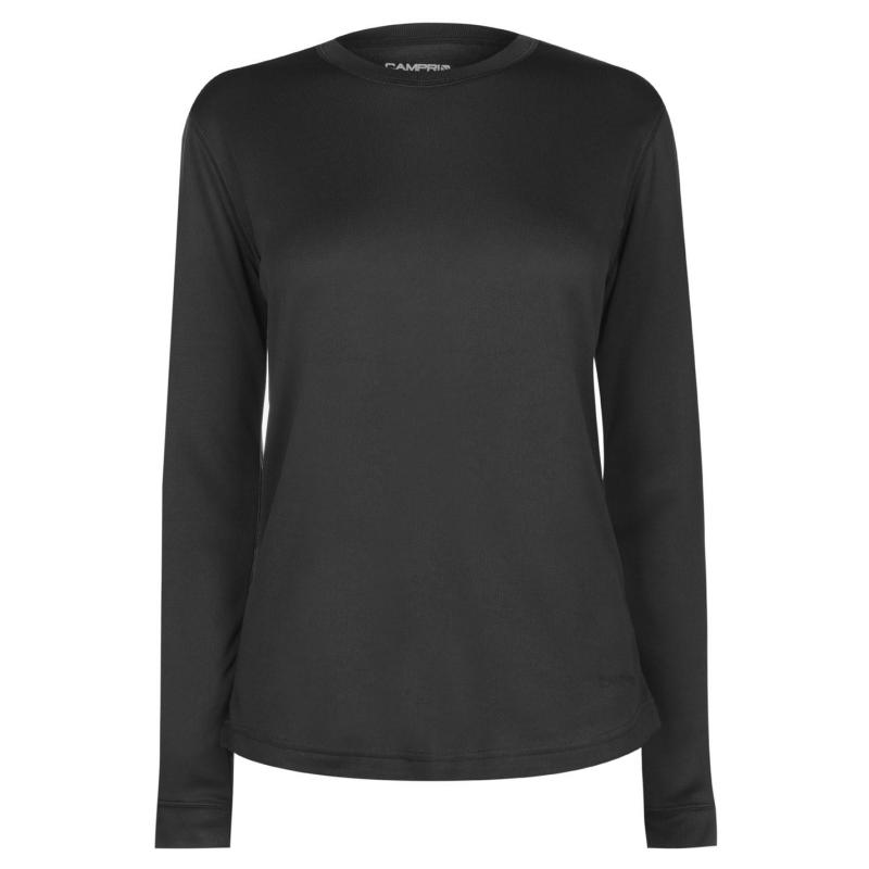 Campri Thermal Top Ladies Charcoal